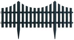 Ниска градинска ограда - Модел 1315-HD8026 - 1 модул с дължина 60 cm -