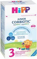 Мляко за малки деца - HiPP 3 Combiotic JUNIOR - Опаковкa от 500 g за деца от 1 година -