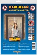 Магнитна мрежа срещу насекоми за врата -
