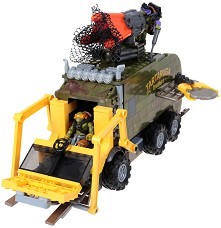 """Боен камион - Детски конструктор от серията """"Костенурките нинджа"""" -"""