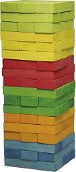 Дженга - Игра с дървени елементи за подреждане -