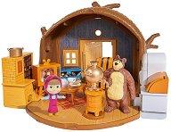 """Къщата на Мечока - Фигура с аксесоари от серията """"Маша и Мечока"""" -"""
