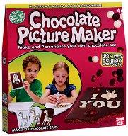 Направи сам белгийски шоколад -  Картинки - Творчески комплект за създаване на 2 броя -