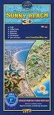 Слънчев бряг - Свети Влас - карта
