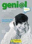 geni@l klick - ниво 2 (A2): Учебна тетрадка по немски език + 2 CD -