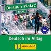 Berliner Platz Neu: Учебна система по немски език : Ниво 2 (A2): 2 CD с аудиозаписи на задачите от учебника - Christiane Lemcke, Lutz Rohrmann, Theo Scherling -