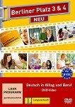 Berliner Platz Neu - ниво 3 - 4 (B1 - B2): DVD по немски език с адаптирани теми към уроците в учебника - учебник