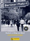 Berliner Platz Neu - ниво 4 (B2): Книга за учителя по немски език - Susan Kaufmann -