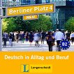 Berliner Platz Neu - ниво 4 (B2): 2 CD с аудиоматериали по немски език - учебник
