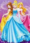 Ученическа тетрадка - Принцесите на Дисни - Формат B5 -