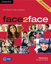 face2face - Elementary (A1 - A2): Учебник + DVD : Учебна система по английски език - Second Edition - Chris Redston, Gillie Cunningham - учебник