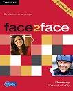 face2face - Elementary (A1 - A2): Учебна тетрадка с отговори : Учебна система по английски език - Second Edition - Chris Redston, Gillie Cunningham - помагало