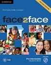 face2face - Pre-intermediate (B1): Учебник + DVD : Учебна система по английски език - Second Edition - Chris Redston, Gillie Cunningham - учебник