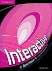 Interactive - ниво 4 (B2): CD-ROM с тестове по английски език - Sarah Ackroyd -