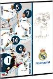 Ученическа тетрадка - Реал Мадрид : Формат А4 с широки редове - 40 листа -