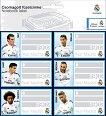Етикети за тетрадки - Реал Мадрид -