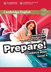 Prepare! - ниво 4 (B1): Учебник по английски език : First Edition - James Styring, Nicholas Tims, Annette Capel -