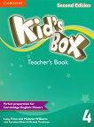 Kid's Box - Ниво 4: Книга за учителя Учебна система по английски език - Second Edition - учебник