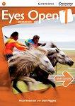 Eyes Open - ниво 1 (A1): Учебна тетрадка по английски език - Vicki Anderson, Eoin Higgins -