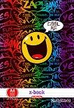 Ученически тетрадки - Усмивки - Комплект от 2 броя с формат A4 -
