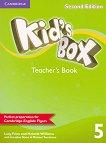 Kid's Box - Ниво 5: Kнига за учителя Учебна система по английски език - Second Edition - учебник