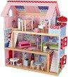 Къща за кукли - Челси - Дървена детска играчка -