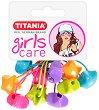 """Ластици за коса със звездички - Комплект от 5 броя от серията """"Girls Care"""" -"""