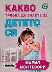 Какво трябва да знаете за детето си - Мария Монтесори - детска книга