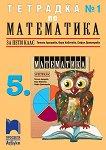 Тетрадка по математика № 1 за 5. клас - помагало