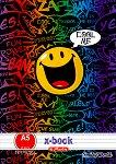 """Ученически тетрадки : Формат A5 - Комплект от 5 броя с 20 листа от серията """"SmileyWorld"""" -"""