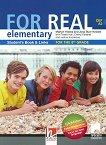 For Real - A2: Учебник по английски език за 8. клас + CD-ROM - Martyn Hobbs, Julia Starr Keddle, Rob Nicholas, Tessa Hall,  Ivelina Kazakova -