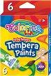 Темперни бои - Комплект от 6 или 12 цвята x 12 ml -
