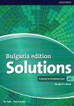 Solutions - част A1: Учебник по английски език за 8. клас за интензивно обучение : Bulgaria Edition - Tim Falla, Paul A. Davies -