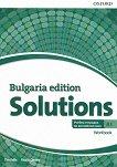 Solutions - част A1: Учебна тетрадка по английски език за 8. клас за интензивно обучение : Bulgaria Edition - Tim Falla, Paul A. Davies -
