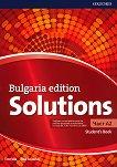 Solutions - част A2: Учебник по английски език за 8. клас : Bulgaria Edition - Tim Falla, Paul A. Davies -