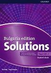 Solutions - част B1.1: Учебник по английски език за 8. клас : Bulgaria Edition - Tim Falla, Paul A. Davies -