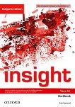 Insight - част A1: Учебна тетрадка по английски език за 8. клас за интензивно обучение : Bulgaria Edition - Kate Haywood -