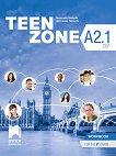 Teen Zone - ниво A2.1: Работна тетрадка по английски език за 9. клас - учебник