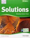 Solutions - Elementary: Учебник по английски език : Second Edition - Tim Falla, Paul A. Davies -