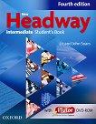 New Headway - Intermediate (B1): Учебник по английски език + iTutor DVD-ROM : Fourth Edition - John Soars, Liz Soars -