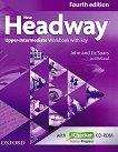 New Headway - Upper-Intermediate (B2): Учебна тетрадка по английски език + iChecker CD-ROM : Fourth Edition - John Soars, Liz Soars, Jo McCaul - книга за учителя