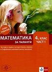 Математика за таланти - част 1 : Тестове и задачи за подготовка и прием в 4. клас на СМГ - книга за учителя