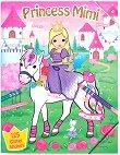 Princess Mimi - книжка за оцветяване с приказни герои + стикери -