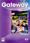 Gateway - Pre-Intermediate (А2): Учебник за 8. клас по английски език Second Edition - учебник