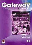Gateway - Pre-Intermediate (А2): Учебна тетрадка за 8. клас по английски език Second Edition - учебник