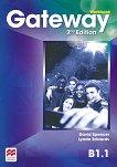 Gateway - Intermediate (B1.1): Учебна тетрадка за 8. клас по английски език Second Edition - учебник