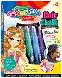 Пастели за коса - Girls - Комплект с аксесоари -