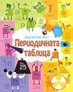Периодичната таблица - енциклопедия с капачета - Алис Джеймс - детска книга