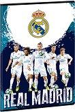 Ученическа тетрадка - Real Madrid : Формат А4 с широки редове - 40 листа -