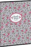 Ученическа тетрадка - Pink Roses : Формат А4 с широки редове - 40 листа - тетрадка
